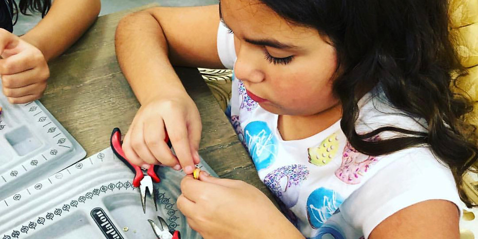 Jewelry Design 101 Series (Ages 8 & up)
