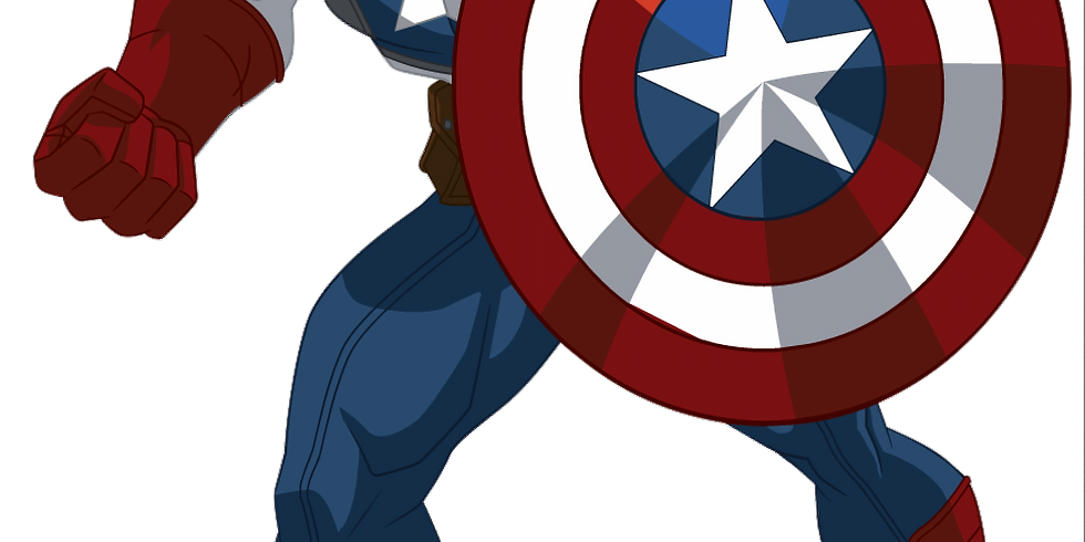 Crafting with Captain America