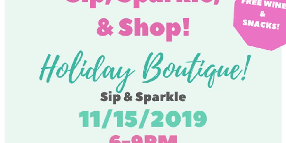 Sip & Shop Holiday Boutique