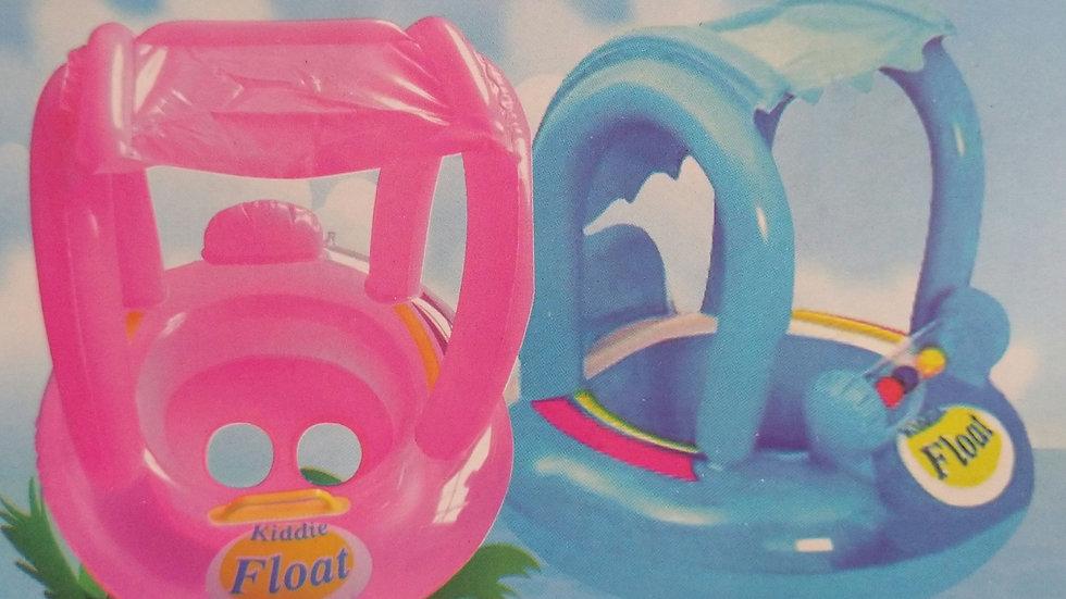 Salvavidas Inflable Infantil con techo