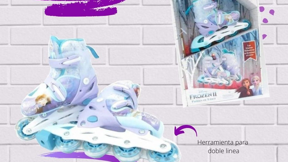 Patines Frozen II