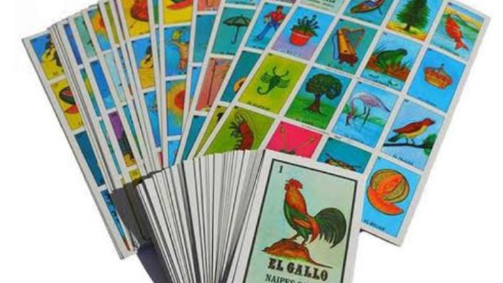 Loteria Gacela 10 Tablas