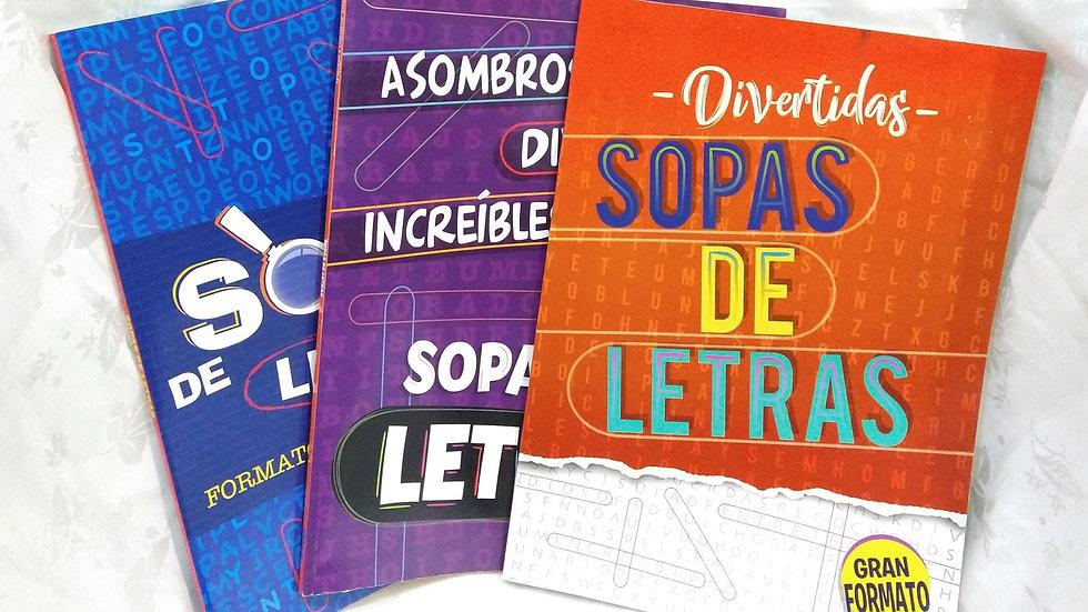 Libro sopa de letras