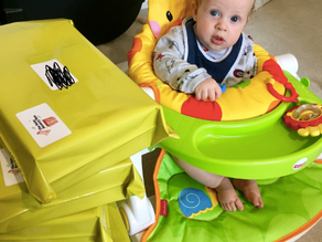 How I came up with our sensory boxes for babies...