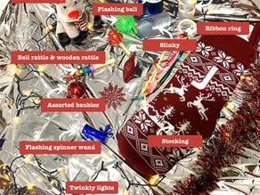 At home: The Christmas Sensory Tray