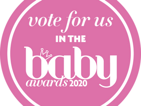We're shortlisted in The Baby Awards 2020!
