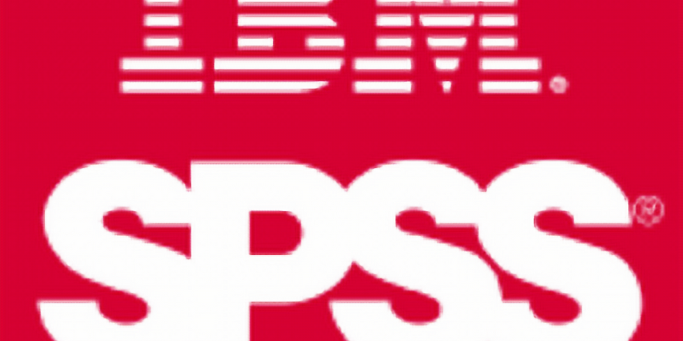 SPSS Training Course (3 Days)