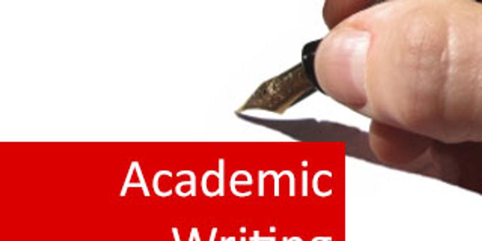 Academic Writing for Postgraduate