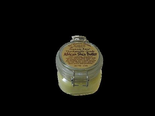 Organic Raw African Shea Butter ~ 4 Oz.