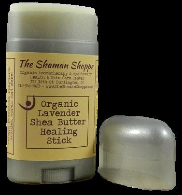 Lavender Shea Butter Healing Stick - Organic