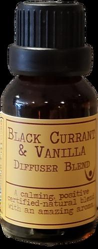 BLACK CURRANT & VANILLA DIFFUSER BLEND