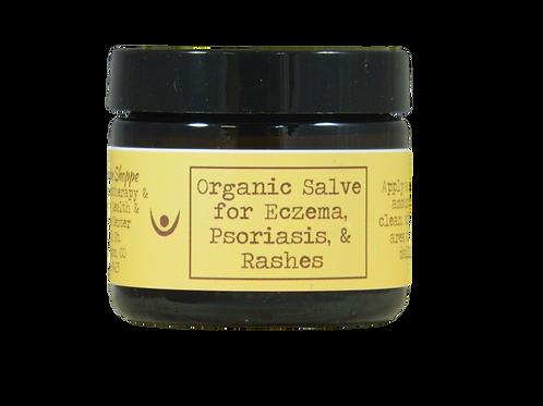 Eczema, Psoriasis, Rash Salve - Organic
