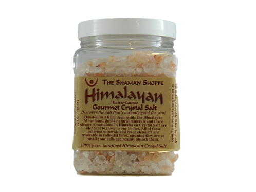 Himalayan Crystal Salt / Course Grind - Organic & Authentic
