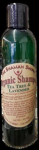 Organic Shampoo-Tea Tree & Lavender