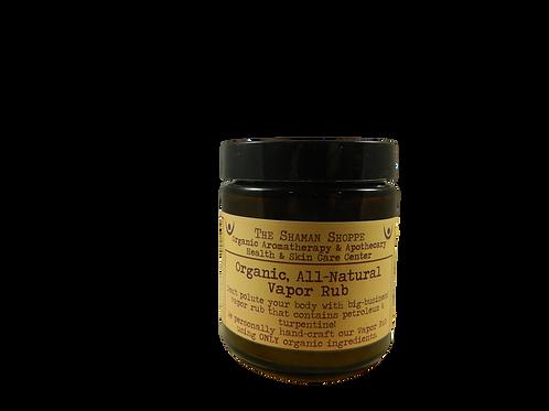 Vapor Rub - 100% Natural & Organic