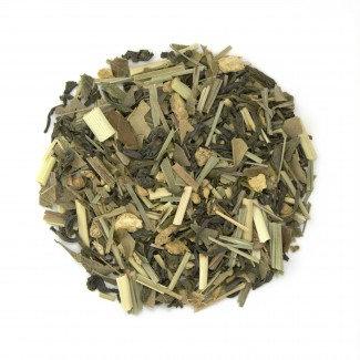 Tea: Lemon Gingersnap Green Tea - Organic - 1 Oz.