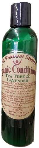 Organic Conditioner -Tea Tree & Lavender