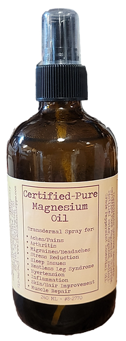 MAGNESIUM OIL - CERTIFIED PURE!