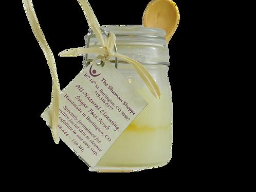Organic Cleansing Facial Sugar Scrub ~ 130 ML.