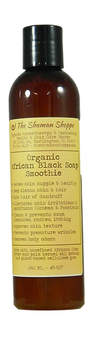 African Black Soap Smoothie