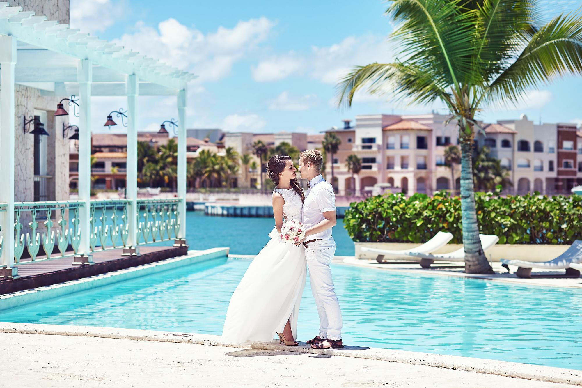 фотосессия свадьба в доминикане