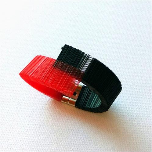 contemporary greek jewelry Misineza vinyl epallilo bracelet