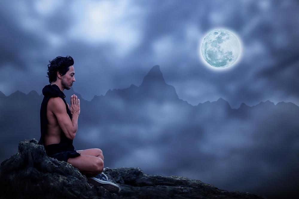Meditasjon i fullmåne