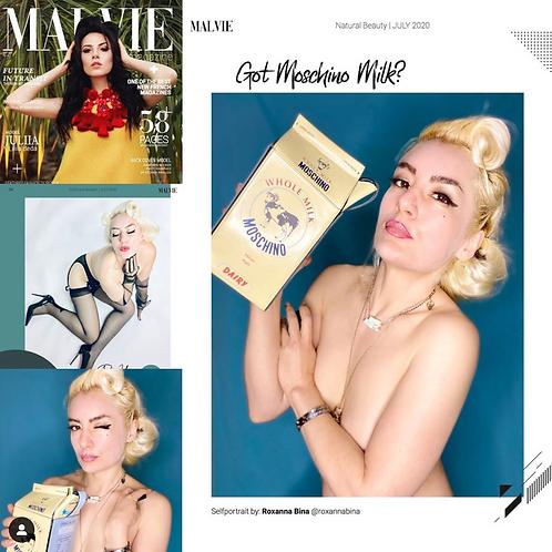 Malvie July 2020- Natural Beauty Edition/Boudoir Edition