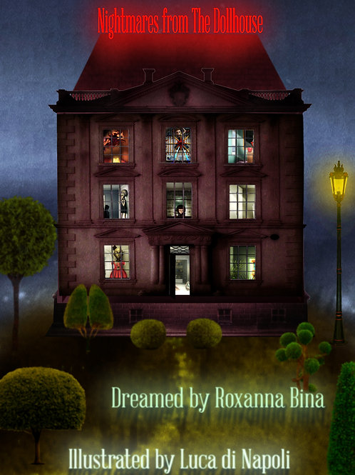 """Nightmares from the Dollhouse"" Hard-Cover Book"