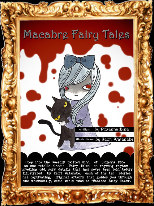 """Macabre Fairy Tales"" Hard-Cover Book"