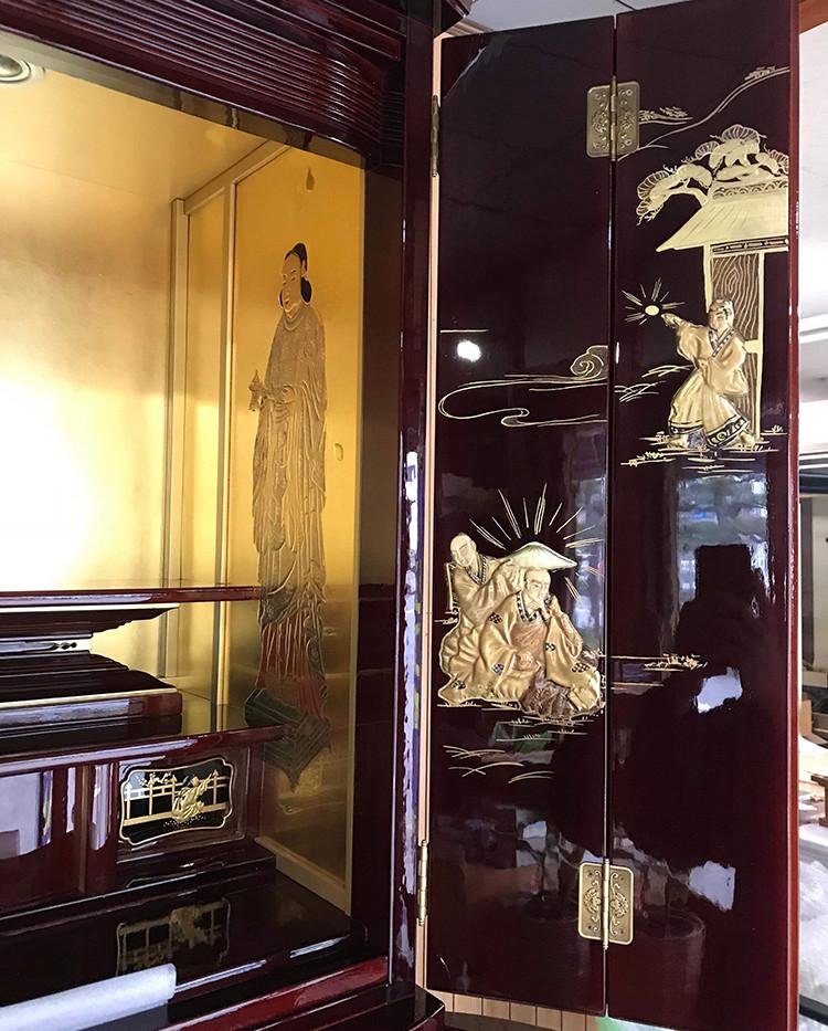 リビングに置ける家具調仏壇に