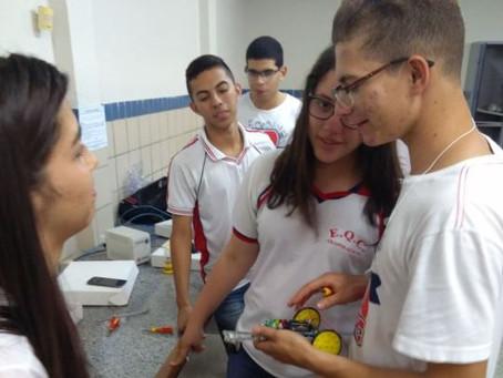 Robótica Estimula Aprendizado nas Escolas Estaduais em Arapiraca