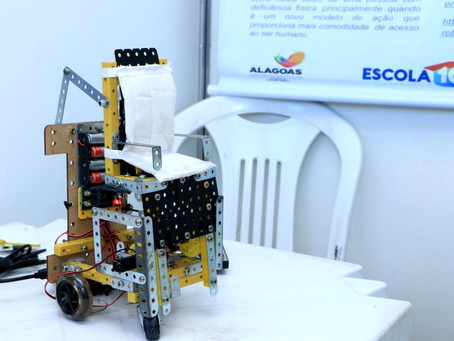 Protótipo de Cadeira de Rodas Inteligente