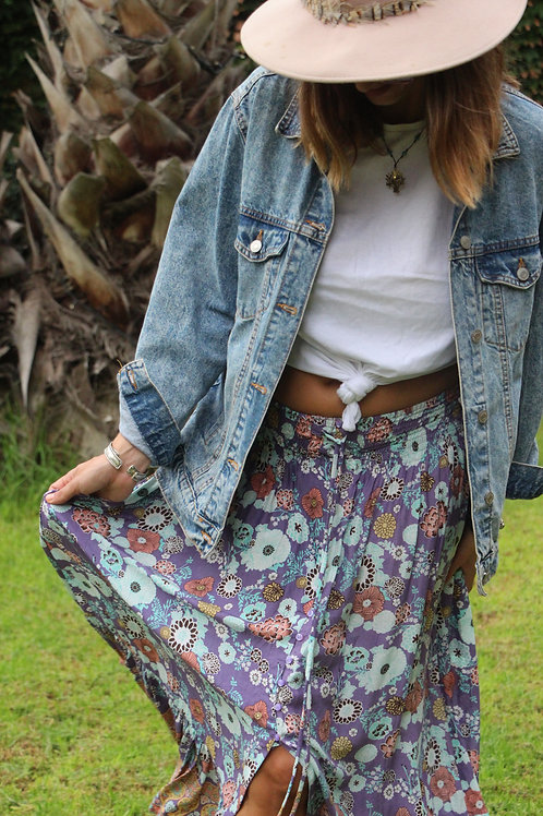Gypsy Skirt In Floral