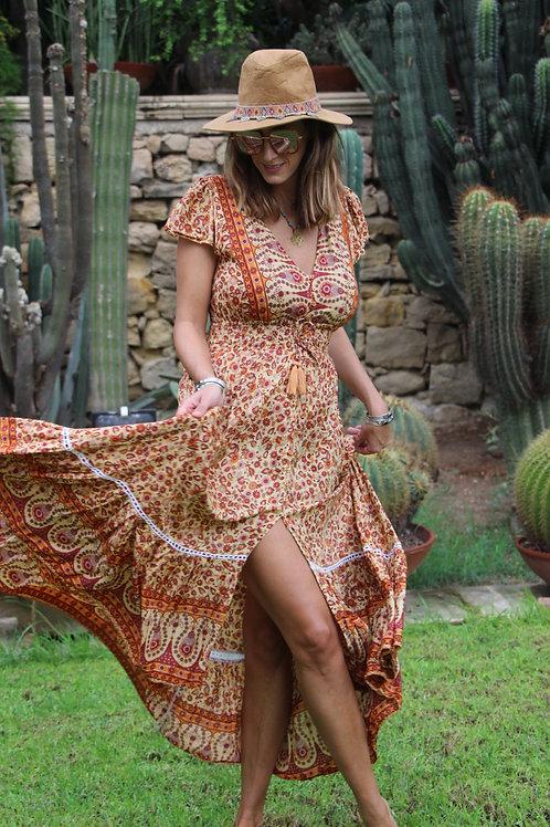 Gypsy Dress In Paisley