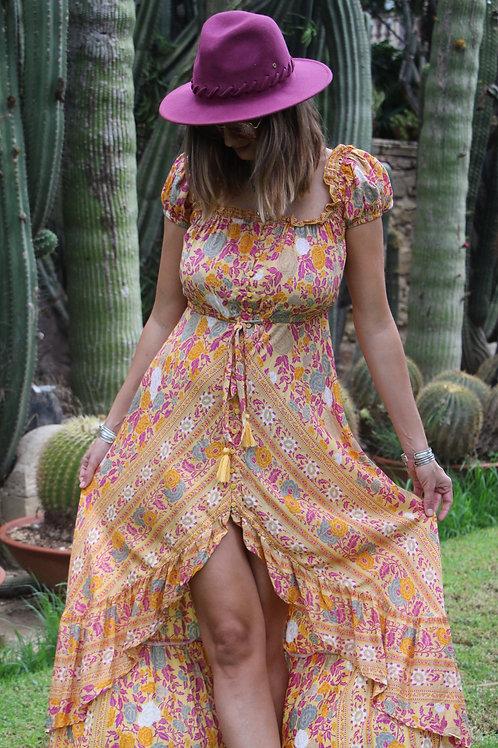 Menowin Dress In Ruta print