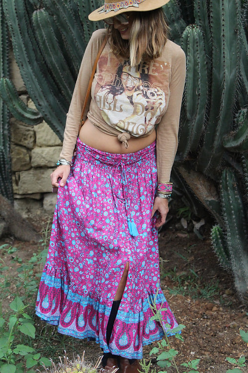 Gypsy Skirt In Paisley