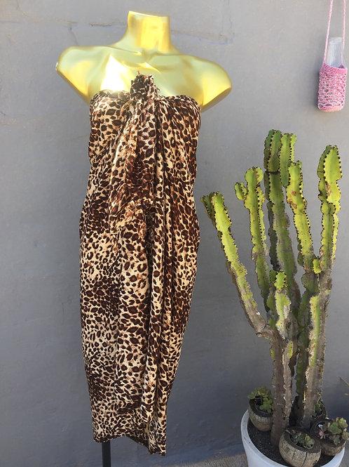 Leopard Sarong