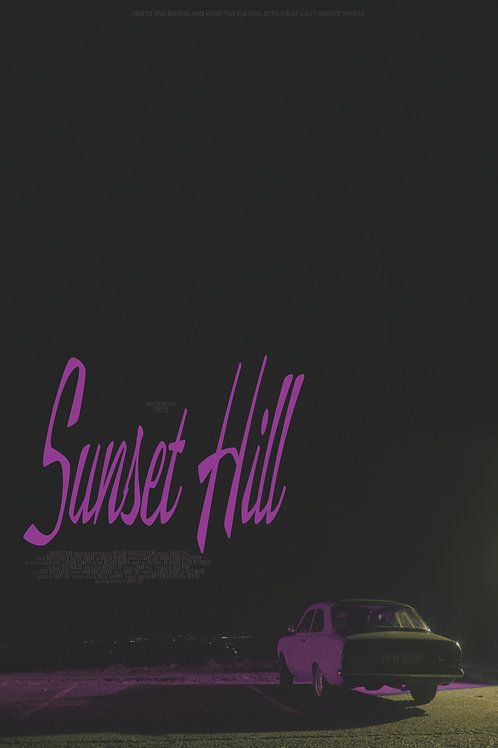 Sunset Hill Printable Poster #1