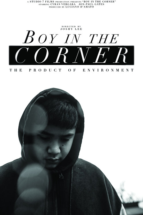 Boy in the Corner A1 Poster