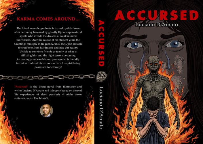 Accursed: The Djinn Chronicles full cover mock-up