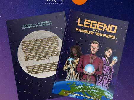 """LEGEND OF THE RAINBOW WARRIORS"" comic book NOW available at WATERSTONES!"