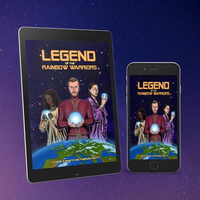 Legend of the Rainbow Warriors eBook mock-up
