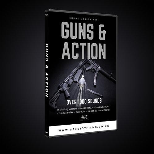 GUNS & ACTION - sound design pack