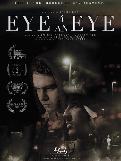 Eye 4 an Eye Printable Poster