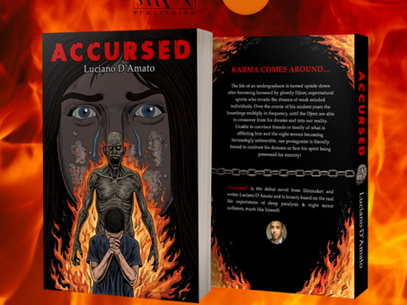 """ACCURSED"" novel NOW at 14 GIFTS shop in GLOUCESTER!"
