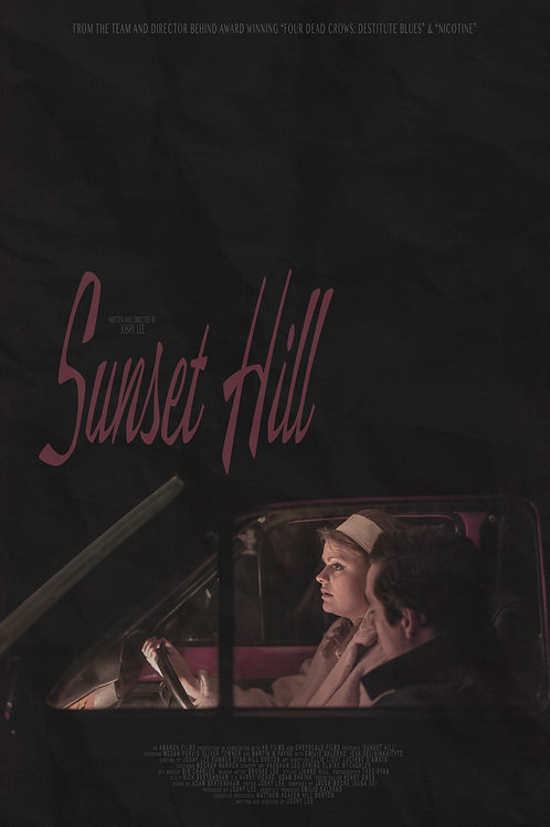 Sunset Hill Printable Poster #2