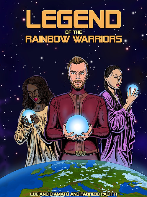 Legend of the Rainbow Warriors Printable Poster