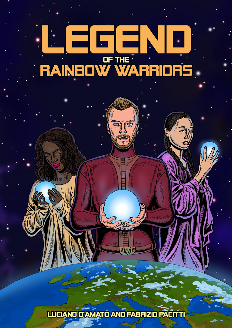 Legend of the Rainbow Warriors full front cover