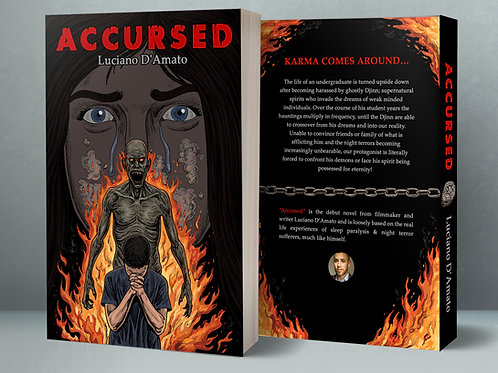 Accursed Paperback Novel